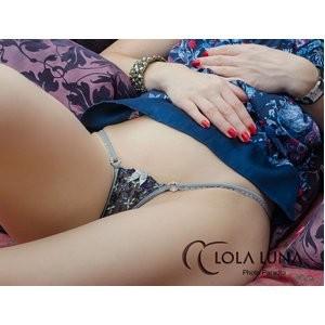 Lola Luna(ローラルナ) 【Lizia micro L】リジーア マイクロストリングショーツ L